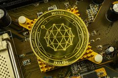 Qtum is a modern way of exchange and this crypto currency. Is a convenient means of payment in the financial stock photos