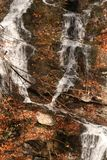 Québec d'Au d'automne d'en de nature de La/belle cascade Photographie stock