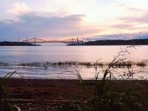 Québec most Zdjęcia Royalty Free