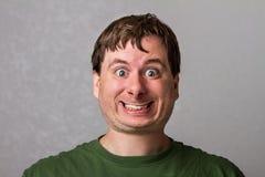 Qué clase de sonrisa es ésa Imagen de archivo libre de regalías