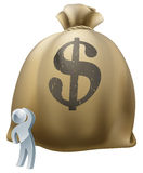 Qué a hacer con su concepto del dinero Imagenes de archivo