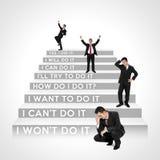 ¿Qué negocio camina ahora es usted? Foto de archivo libre de regalías