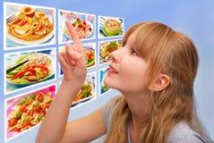 Qué para el almuerzo hoy Imagenes de archivo