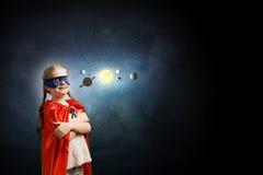 ¿Qué usted sabe sobre espacio? Fotos de archivo
