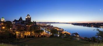 Québec City panorama. Québec City panorama - Québec City, Québec, Canada stock images