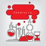 química ilustración del vector