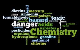 Química ilustração stock