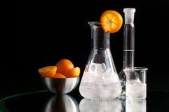 Química do cocktail Fotografia de Stock