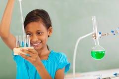 Química elemental del estudiante imagen de archivo