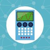 Química eletrônica do laboratório do elemento Imagens de Stock Royalty Free