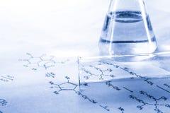 Química en el tono Foto de archivo libre de regalías