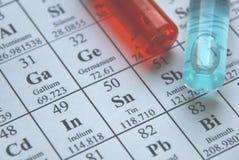 Química. Série da câmara de ar de teste imagem de stock royalty free