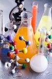 Química y biología imagen de archivo libre de regalías