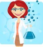Químico ilustración del vector