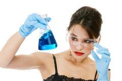 Químico bonito foto de stock