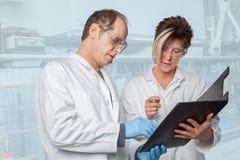 Químico Education Imágenes de archivo libres de regalías