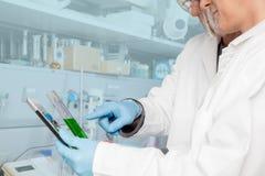 Químico Education Lesson Imágenes de archivo libres de regalías
