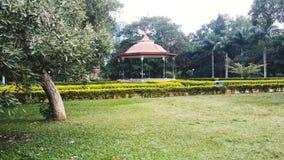 Qu'ensemble de jardin de Bangalore Lalbagh photos stock
