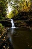 She-qua-ga Falls - Waterfall and Autumn / Fall Colors - New York Royalty Free Stock Image