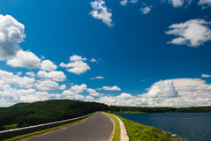 Quabbin reservoir Royalty Free Stock Image