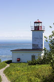 Quaco Head Lighthouse in New Brunswick in Canada Stock Photography
