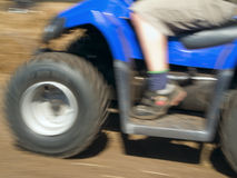 Quad in action Royalty Free Stock Image