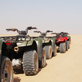 Quad bike Stock Photography