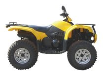Quad-bike Stock Photography