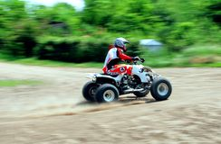Quad bike Royalty Free Stock Photography