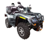 Quad-bike Royalty Free Stock Photos