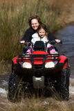 Quad bike adventure stock photography