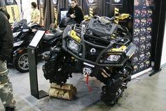 Quad bike BRP Can-Am OUTLANDER 800 XMR Royalty Free Stock Image