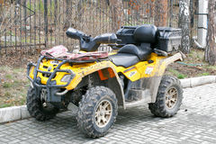 Quad bike BRP Royalty Free Stock Image