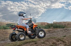 Quad bike Royalty Free Stock Photo