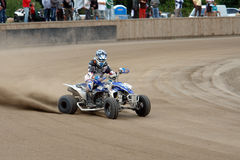 Quad Bike Driver Royalty Free Stock Photography