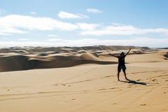 Quad Bike Excursions in Namibia Stock Photos
