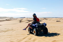 Quad Bike Excursions in Namibia Royalty Free Stock Photography