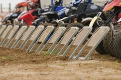 Quad Bike Racing Stock Photography