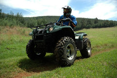 Free Quad Biker Stock Photos - 1444073