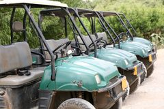 Quad bikes for rent Royalty Free Stock Photography