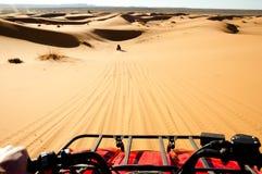 Quad Biking - Merzouga - Morocco Royalty Free Stock Image