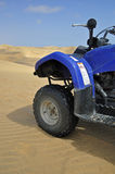 Quad Biking in Namibia Stock Photo