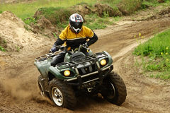 Quad competition Stock Image