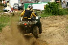 Quad competition. Atv quad racing annual competition Stock Images