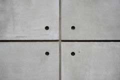 Quad Concrete Wall Stock Photography