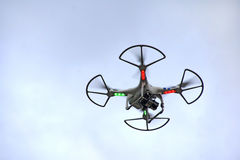 Quad copter Royalty Free Stock Photos
