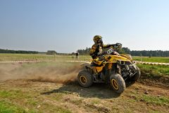 Quad enduro Stock Image