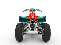 Quad - Front View Royalty Free Stock Images