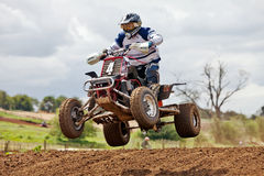Quad jump Stock Images