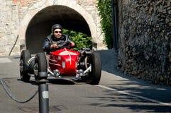 Quad motorbike at Bergamo Historic Grand Prix 2017 Stock Photos